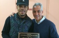 Chance The Rapper Given Chicago's Outstanding Youth Award by Mayor